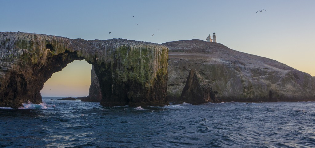 Anacapa's iconic Arch Rock