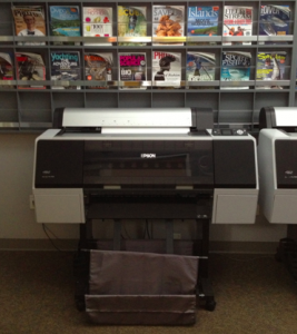 An Epson printer, part of prepress