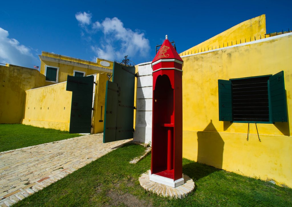 Park headquarters is situated across the street from Fort Christiansted. The fort was built primarily to smother slave rebellions and secondarily to protect the cash cow (in the form of sugar and rum production) that was St. Croix for the Danish government.