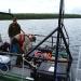 Loading gear on a boat to Windigo