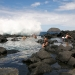 Swimming in the tidepools