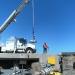 Launching oceanographic equipment